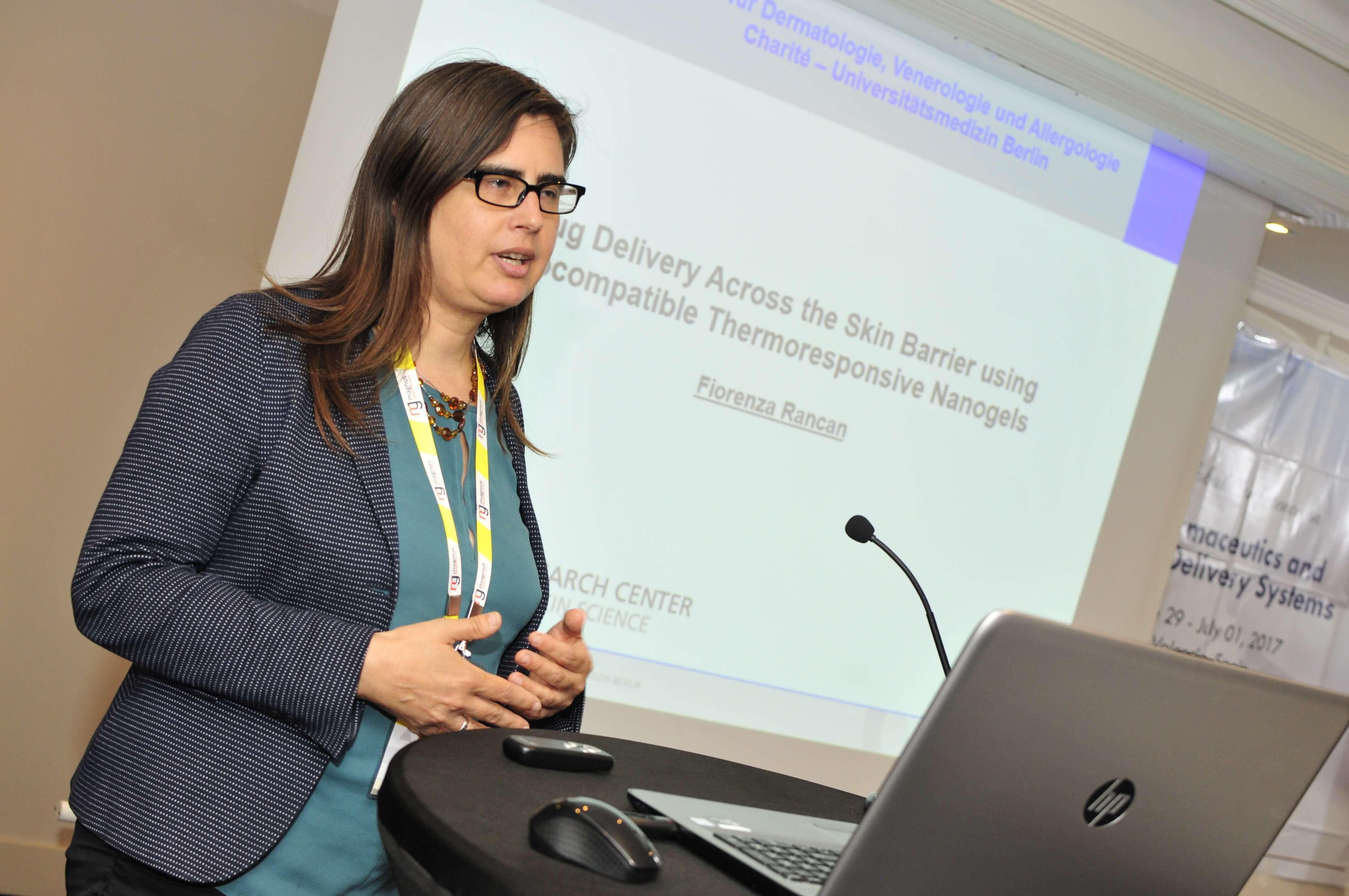 Speaker for Pharma Conferences 2020-Fiorenza Rancan Charite